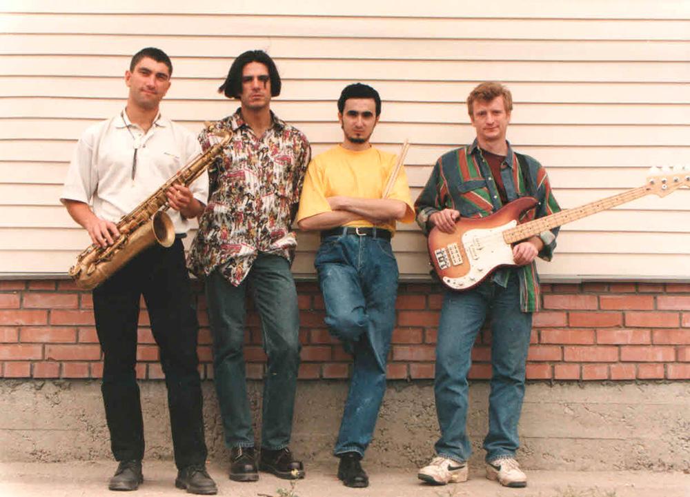 Инструментальный квартет Атона Баронина Fourbeat - моё увлечение студенческих времён.